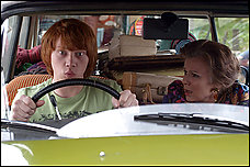 Rupert Grint -- best known as the sidekick Ron in the