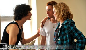 Robert Sheehan, Rupert Grint and Kimberly Nixon in 'Cherrybomb'