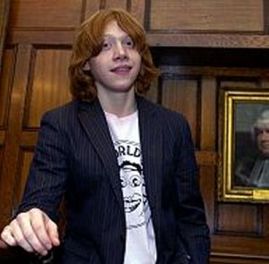 Rupert Grint   Credit  Bolinda Audio   RupertGrint has narrated a     Know Your Meme Emma Watson  Memes  and       mugglefacts Daniel Radcliffe and Rupert Grint  both admit